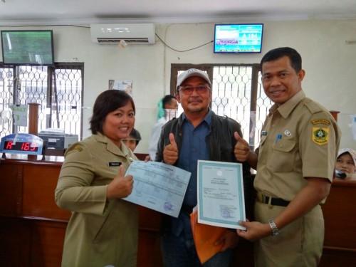 Program One Day Service Terpadu Akta Lahir & Kartu Keluarga di Kantor Disdukcapil Kabupaten Bogor
