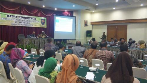Rapat Koordinasi Adminduk dan Pencatatan Sipil Se Jawa Barat