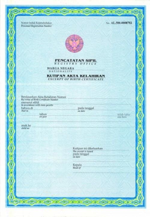 Program akselerasi pelayanan pencatatan akta kelahiran